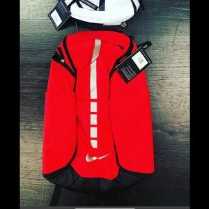 Nike Bags - NWT NIKE ELITE BACKPACK RED AND BLACK UNISEX